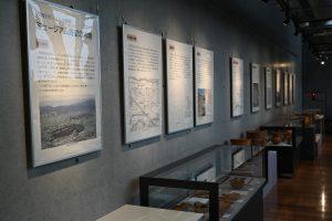 ミュージアム周辺の古墳